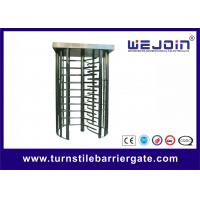China Pedestrian Security Gates Automatic Turnstile Full Height Turnstile With Memory Function on sale