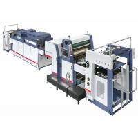 Buy cheap 30kw Flexo Paper UV Coating Machine 4000 Sheets / Hour , Uv Varnish Machine from wholesalers