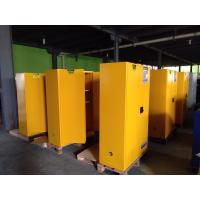 Quality Yellow Flammable Safety Cainets , Industry Flame Proof Storage Cabinets 45 for sale