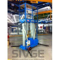 China Aluminum Alloy Hydraulic Lift Ladder 14 Meter Working Height For Window Cleaning wholesale