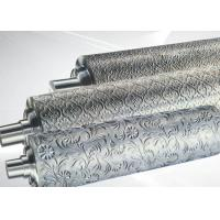 China PP ABS Embossing Roller Surface Hardness HRC55~58 , PVC Mirror Roller wholesale