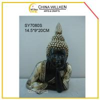China Resin Cute Happy Buddha Statue for Home Decoration wholesale
