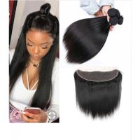 China 13 X 4 Lace Frontal 100% Malaysian Hair Extensions Length 8'' -   24'' wholesale