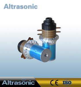 China Ceramic Welding Piezoelectric Ultrasonic Welding Transducer 900W 40mm Diameter wholesale