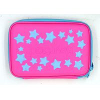 China Large Capacity School Unusual Pencil Cases / Pencil Carrying Case Red Color wholesale