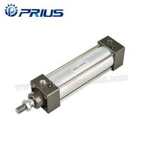 China SC / SU Standard Air Cylinders , Adjustable Buffer Double Acting Air Cylinder wholesale