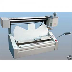 China Perfect Binding Machine with Roughener - PGO, manual book binder,S320D wholesale