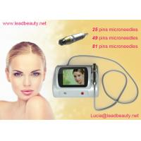 China 5 Mhz Microneedle Fractional Rf Machine With 80W Output 0.25 - 3 mm Needle on sale