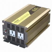 China 2,000W UPS Inverter with Charger, Cooling Fan, 2 Sockets, 10A Charge Current and 3 Stages, CE Mark  wholesale