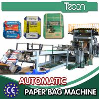 China Fully Automatic Flexo Printing Paper Bag Machinery / Cement Bag Making Machine on sale
