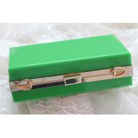 China Green lady acrylic makeup storage boxes Retangle With waterproof wholesale