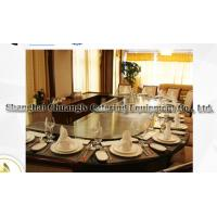 China Arch Shape Stainless Steel Commercial 12 Seats Teppanyaki Grill Table Electromagnetic Heating wholesale