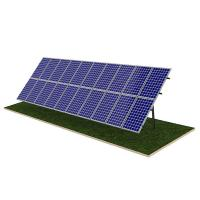 China Steel Pile Solar Panel Ground Mounting Systems Rapid Installation 20M Max Building Height wholesale