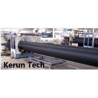 China Water Supply / Gas Supply Large Diameter HDPE Pipe Extrusion Equipment  Line 480 Kgs / H wholesale