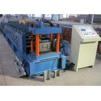 China Galvanized Metal Purlin Roll Forming Machine , Door Frame Roll Forming Machine wholesale