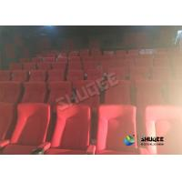 Quality Special Effects Function Movie Theatre Seats / Chairs With Excited Feeling for sale