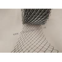 China 20cm Width Galvanized Wire Mesh For Brick Wall 16*28mm Hole 15m Length wholesale