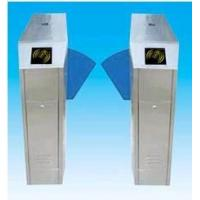 China Automatic Retaractable Access Control System Flap Turnstile Barreir wholesale