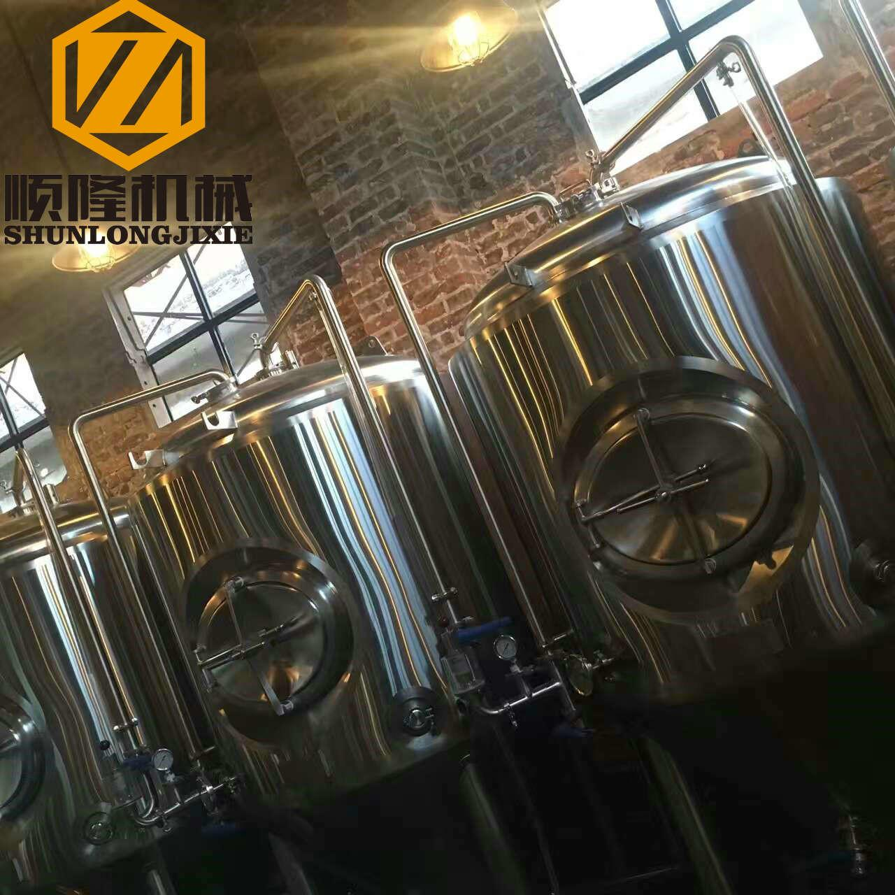 China 1000L Beer Fermentation Tanks , 2.7m Height Stainless Steel Conical Fermenter wholesale