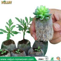 Buy cheap Biodegradable Nonwoven Nursery bags/ Fruit Tree Nonwoven Plant Grow Bag from wholesalers