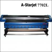 Buy cheap A-starjet 7702L 3.2m eco solvent printer with 2 pcs DX7 heads from wholesalers