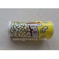 China Unfolded 380ml Disposable Ice Cream Paper Cups With Logo Printed 90 * 60 * 110mm wholesale