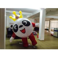 China Cute Cartoon Mascot Inflatable Ball Costume For Advertising 2.5m Height wholesale