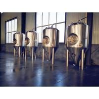 China Beer Plant All Stainless Steel Beer Fermenter , 3000l Brewery Fermentation Tanks wholesale