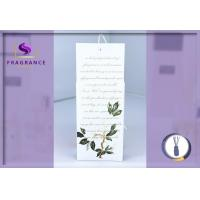 China Fragrance hanging Magnolia Scented Envelope Sachet car sachets wholesale