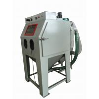 China Common Pressure Sand Blast Cabinet , Grit Blasting Cabinet Box Type For Castings on sale