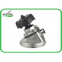 China Tank Bottom Sanitary Diaphragm Valve With Butt Weld Connection , Intelligently Designed wholesale