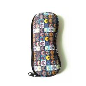 China Ultra Light Portable Travel Soft Neoprene eyeglasses Pouch Zipper.SBR Material. Size is 19cm*8.7cm. wholesale
