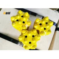 China Industrial Ballistic Button Drill Bit For Rock Drilling / Underground Mining Tunneling wholesale