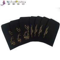 China OEM Envelope Printing Services Shatter Black Gold Oil Wax Extract Coin Envelopes 2.25 X 3.5 Inch wholesale