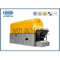 China Fully Automated Horizontal Biomass Fuel Boiler / Wood Pellet Steam Boiler wholesale