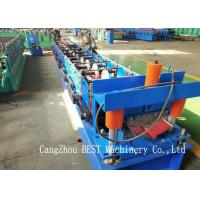 China Ridge Cap Cold Making Roll Forming Machine With PLC Control 380V50HZ wholesale