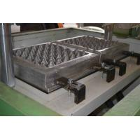 China 350pcs / Hour Egg Tray Equipment With Aluminum Molds Egg Packaging Machine for sale