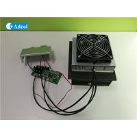 China Compact 100W 48VDC Thermoelectric Air Conditioner With Controller And Cover wholesale