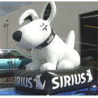 China Event Decoration Sirius Dog Inflatable White Lead Free Digital Printing wholesale