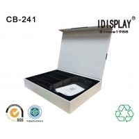 China Recyclable Magnetic Closure Cardboard Box Packaging Perfume Sponge And Eva Foam Insert wholesale