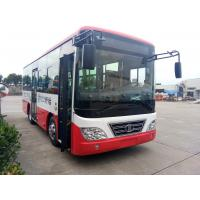 China 80L Inter City Buses Fuel Wheelchair Ramp LHD Steering luxury interior wholesale