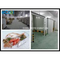 China Low Temperature Frozen Food Storage Warehouses For Seafood -50C~-60C wholesale