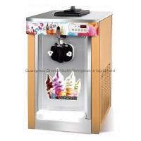 China Gear / Air Pump Soft Ice Cream Making Machines 8 Levels Hardness Adjustment wholesale