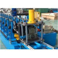 China Steel Unistrut Solar Rack C Channel Roll Forming Machine Chain / Gear Box Driven System wholesale