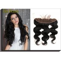 China Straight Top Lace Closure Frontal Free Part Middle Part 3 Way Part Body Wave For Salon wholesale