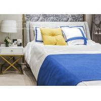 Buy cheap Hotel Bedroom Furniture Stainless Steel Base Nightstand with Golden Color from wholesalers
