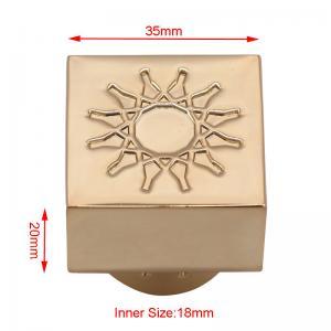China Zinc Alloy Perfume Spray Top Customized Size With Elegant Decoration Logo wholesale
