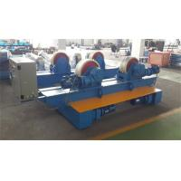 China Bolt Adjustment Movable Pipe Welding Rollers , 20 T Capacity Pipe Supports Stands wholesale