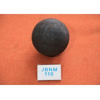 China Core Hardness  57-59hrc   Hot Rolling Steel Ball Grinding Media  B3 D110mm wholesale