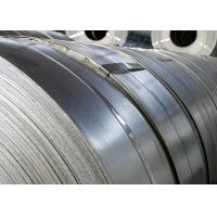 China Corrosion Resistant Hot Dip Galvanized Steel Strip Width 20mm - 850mm wholesale